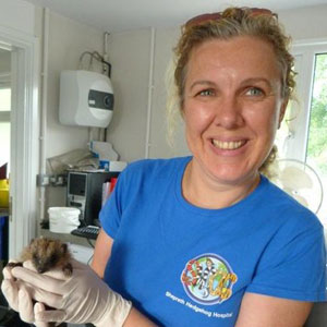 Natasha Ennew SWCC Hedgehog Hospital Manager